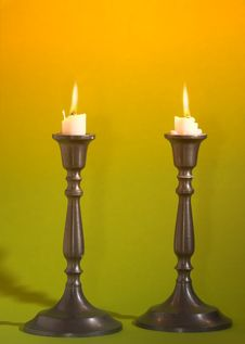 Free Candles Royalty Free Stock Photo - 1421105