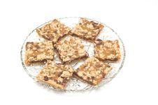 Free Homemade Caramel Squares Royalty Free Stock Image - 1421236