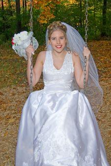 Free Autumn Bride Royalty Free Stock Photo - 1421315