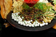 Free Eggs And Olives Stock Photo - 1421570