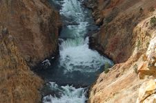 Free Yellowstone National Park Waterfall Stock Photos - 1422163