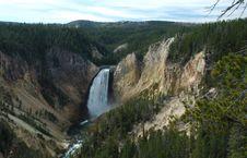 Free Yellowstone National Park Waterfall Stock Photography - 1422172