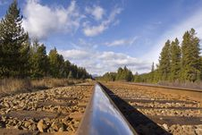 Free Mountain Rails Stock Photo - 1422670