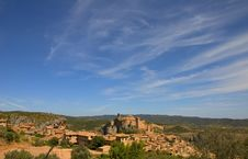 Free Alquezar, Huesca, Spain Royalty Free Stock Photo - 1422995