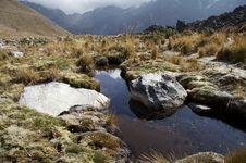 Cordilleras Landscape Royalty Free Stock Images