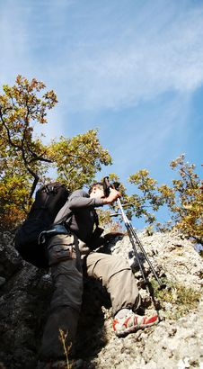 Free Hiking In The Crimea Royalty Free Stock Images - 1424429