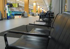 Waiting Lounge In The Airport Royalty Free Stock Photo