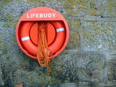 Lifebouy Royalty Free Stock Image