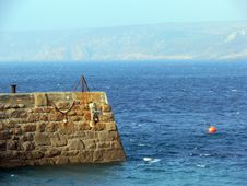 Free Harbour Wall Royalty Free Stock Photos - 1424948