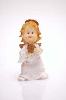 Free Angel With A Gift Stock Photo - 1425020