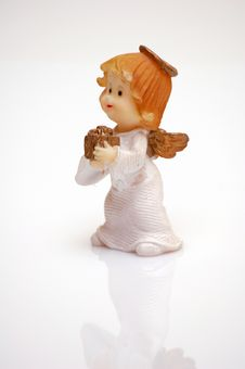 Free Angel With A Gift Stock Photos - 1425023