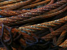 Free Steel Rope Royalty Free Stock Photos - 1425078
