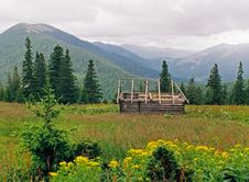 Mountainous Meadow 8 Stock Image