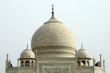 Free Domes Of Taj Mahal Stock Images - 1426044
