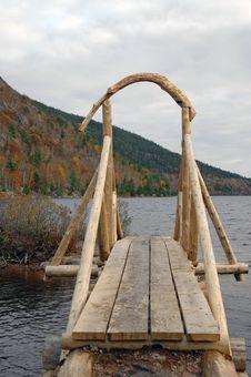 Free Wooden Bridge Royalty Free Stock Image - 1426066