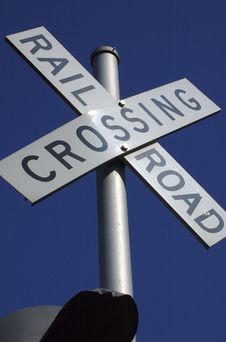 Free Railroad Crossing Royalty Free Stock Images - 1426559