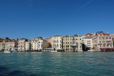 Free Palazzos At Grand Canal Stock Photo - 1426570