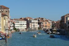 Palazzos At Grand Canal Royalty Free Stock Images