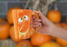 Free Pumpkin Mug Stock Photos - 1428063
