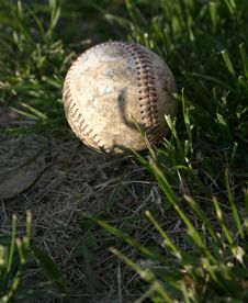 Old Ball Royalty Free Stock Image