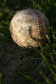 Old Ball Stock Photography