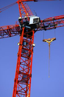 Free Construction Crane Tower Royalty Free Stock Image - 1428476