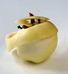 Free Peel Apple Stock Photography - 1429642