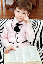 Free Clever Child Royalty Free Stock Photos - 14205808