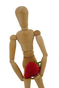 Free Manikin With Fruit Stock Photo - 14201930