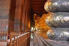 Free The Recliining Buddha Stock Image - 14201971