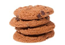 Free Cookies With Chocolate Stock Photo - 14202410