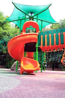 Free Playground In The Park Royalty Free Stock Image - 14202466
