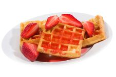 Free Waffles Stock Photography - 14202662
