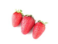 Free Strawberries Royalty Free Stock Photos - 14202868