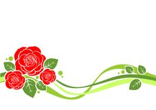 Free Roses Background Royalty Free Stock Photos - 14203678