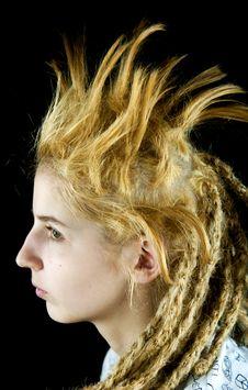 Free Strange Hairdo Stock Image - 14203881