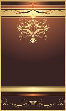Free Decorative Background For Design Of Wrapping Royalty Free Stock Photo - 14204435