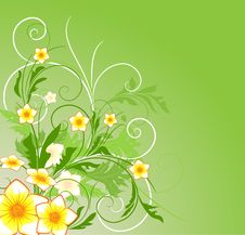 Free Floral Background Royalty Free Stock Image - 14204526