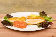 Free Cooked Salmon Royalty Free Stock Image - 14205396