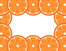 Free Abstract Slice Grapefruit Border Royalty Free Stock Image - 14206266