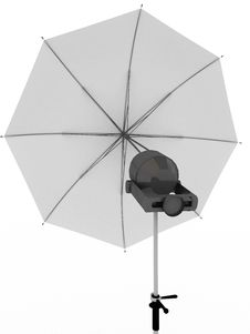 Free White Umbrella For Photography Stock Photos - 14206293