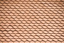 Clay Roofing Tiles Royalty Free Stock Photos