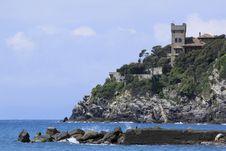 Free Italian Riviera Rock Stock Image - 14206741