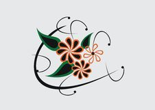 Free Floral Elements Royalty Free Stock Image - 14206826