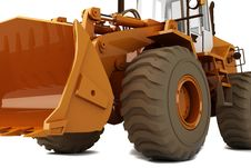 Free Bulldozer Stock Images - 14206884