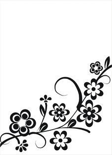 Free Floral Elements Royalty Free Stock Image - 14206976