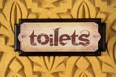 Free Toilet Sign Royalty Free Stock Photos - 14207138