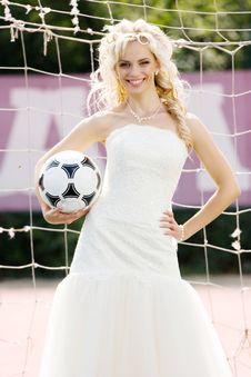 Free Bride Goalkeeper Stock Images - 14208224