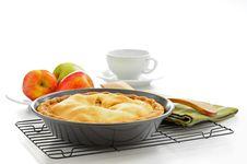 Free Delicious Homemade Apple Pie Stock Photo - 14208300