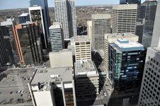 Free Calgary S Urban Jungle Stock Photography - 14208312